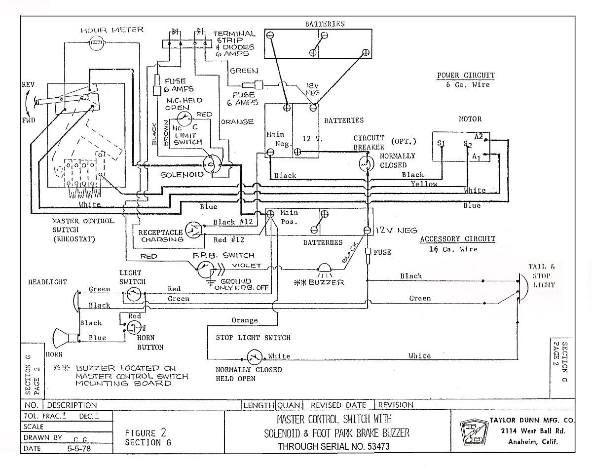 Melex Wiring Diagram