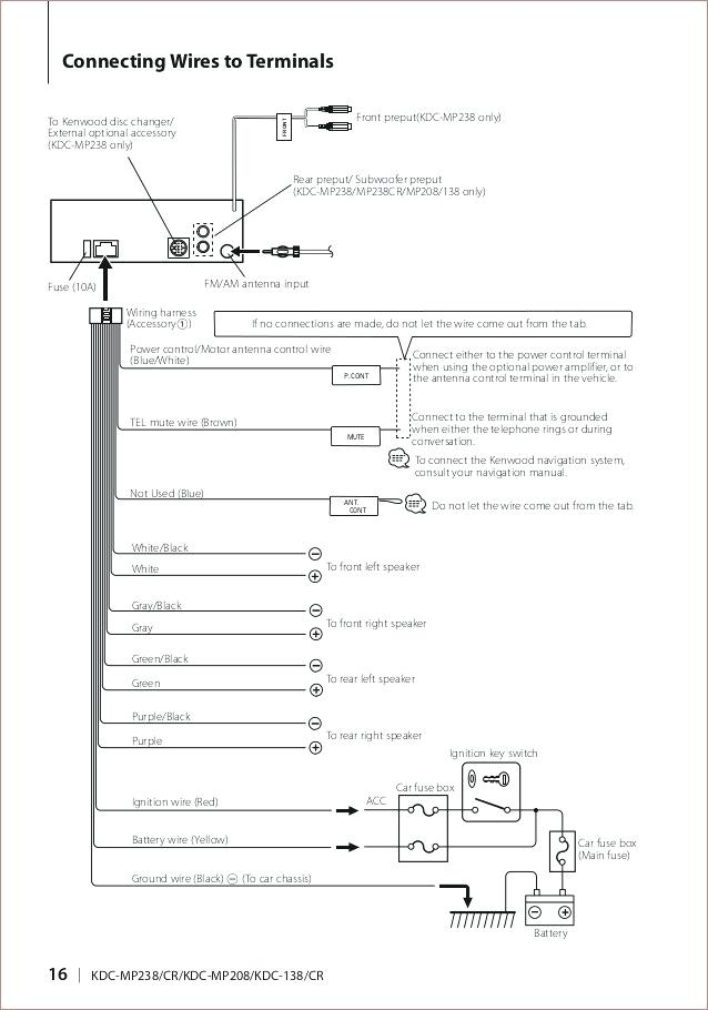 diagram kenwood excelon kdc x994 wiring diagram full