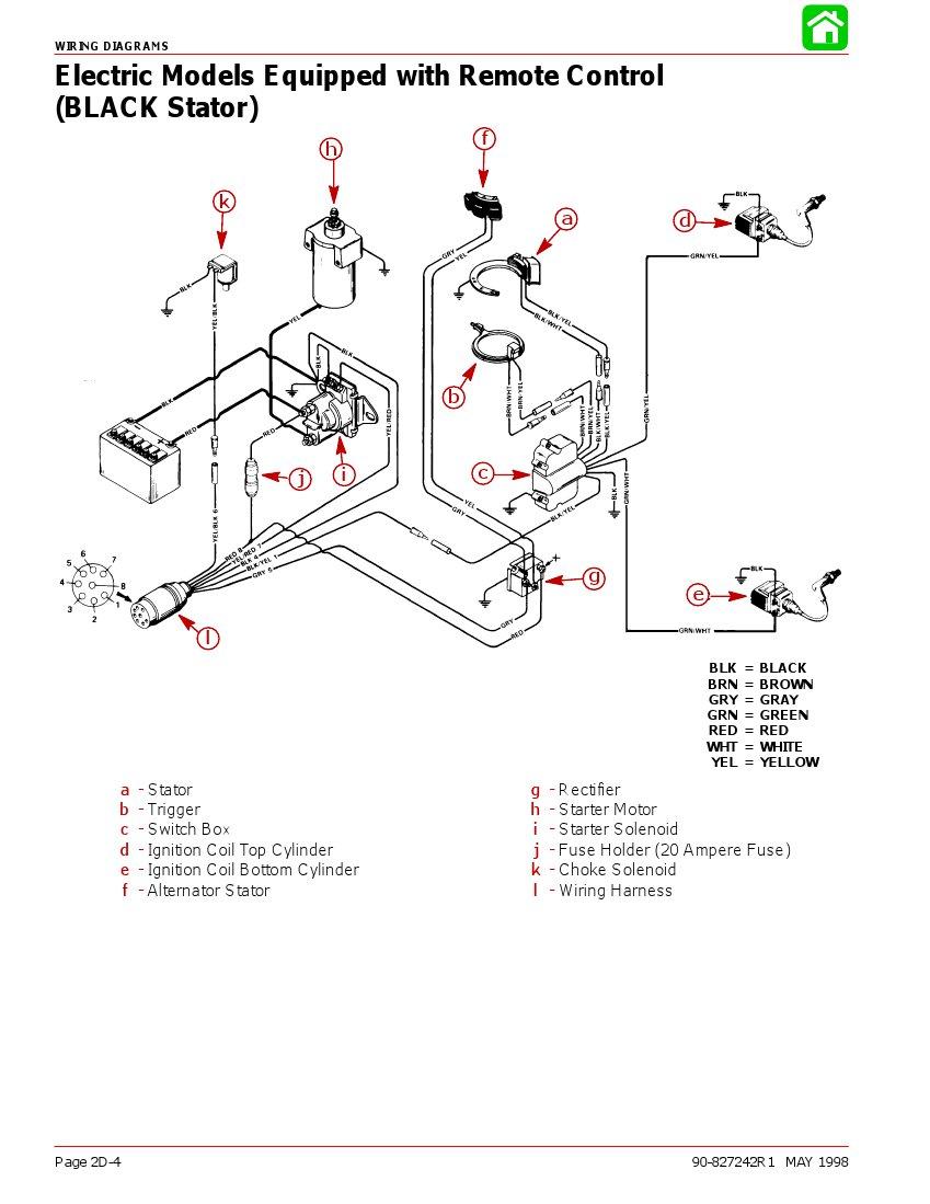 [KL_8118] Mercury 402 Outboard Motor Wiring Diagram