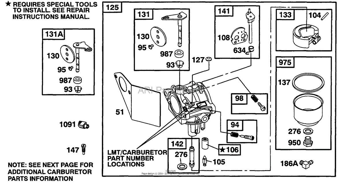 [LF_9304] Briggs And Stratton Lawn Mower Engine Diagram