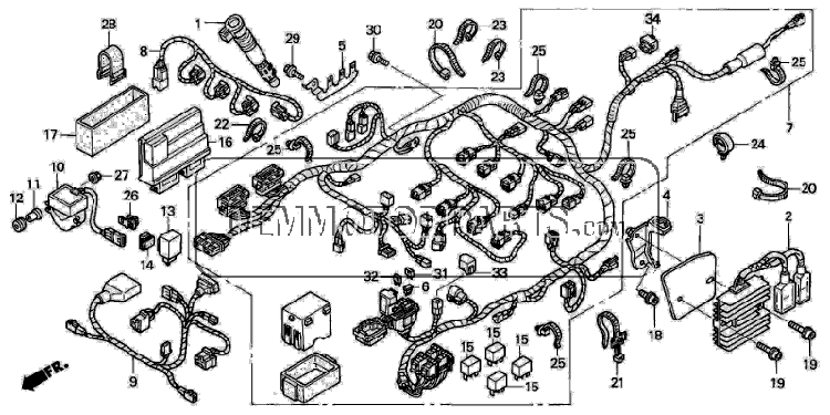 [NK_6234] Wiring Diagram 2005 Honda Cbr1000Rr Download Diagram