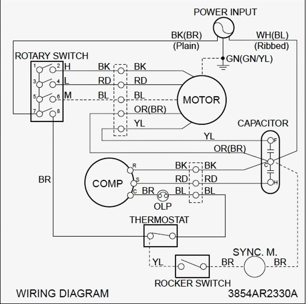 Home Ac Diagram : Ge 30 Amp 120 240 Volt 240 Watt Fused Ac