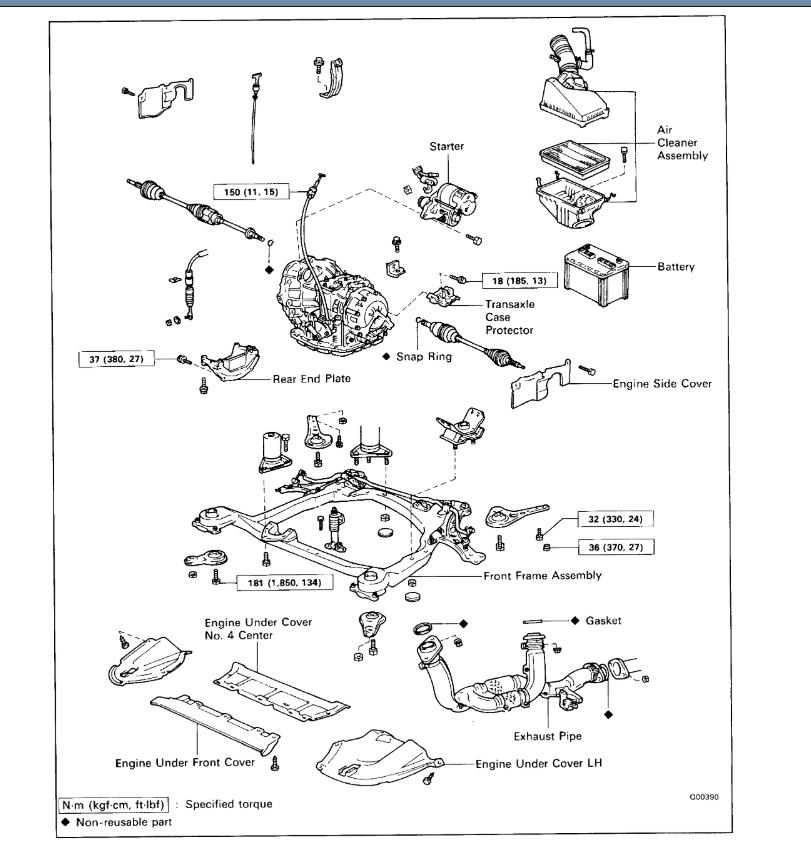 Lexu Es300 Transmission Diagram