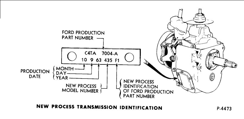 [WW_0954] Ford Transmission Numbers Schematic Wiring