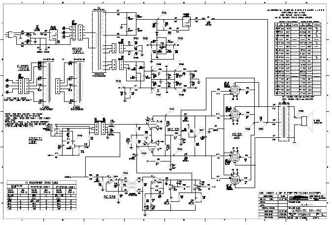 [OD_3596] Premier Amp Schematic Free Diagram