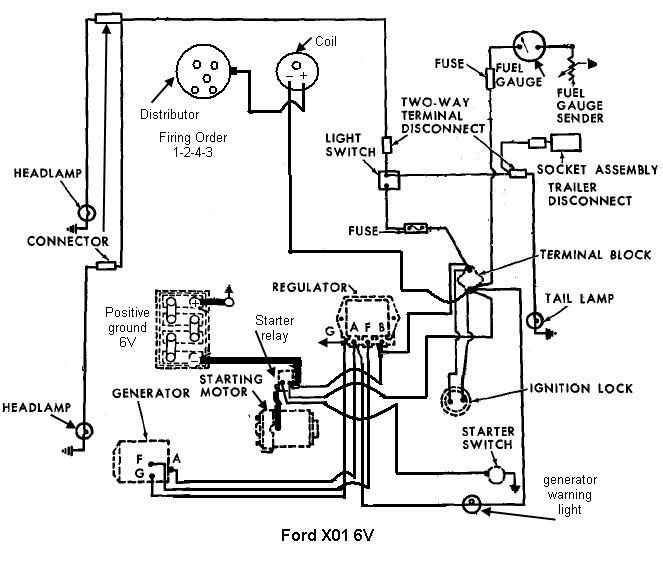 [KZ_9511] Ford Tractor 6610 Alternator Wiring Diagram Free