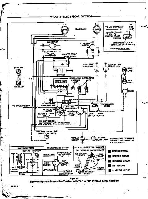 [XV_3538] Wiring Diagram For A 1964 Ford 4000 Tractor Free
