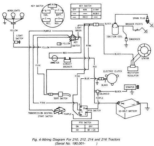 [DIAGRAM] John Deere 455 Lawn Tractor Wiring Diagram FULL