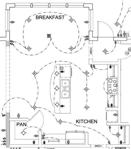 [OH_9459] Electrical Plan Kitchen Schematic Wiring