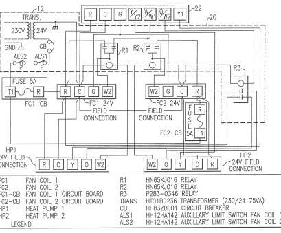 2-Stage Furnace Thermostat Wiring Diagram