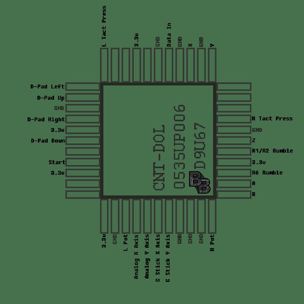 [BB_0493] Gamecube Controller Diagram Wiring Diagram