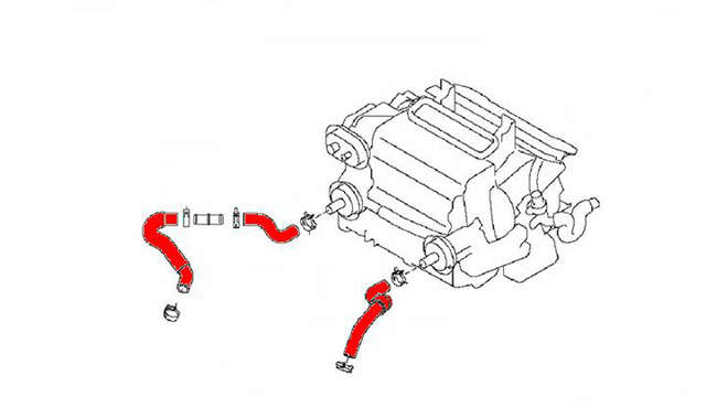 [CR_0923] Infiniti Heater Hose Diagram Schematic Wiring