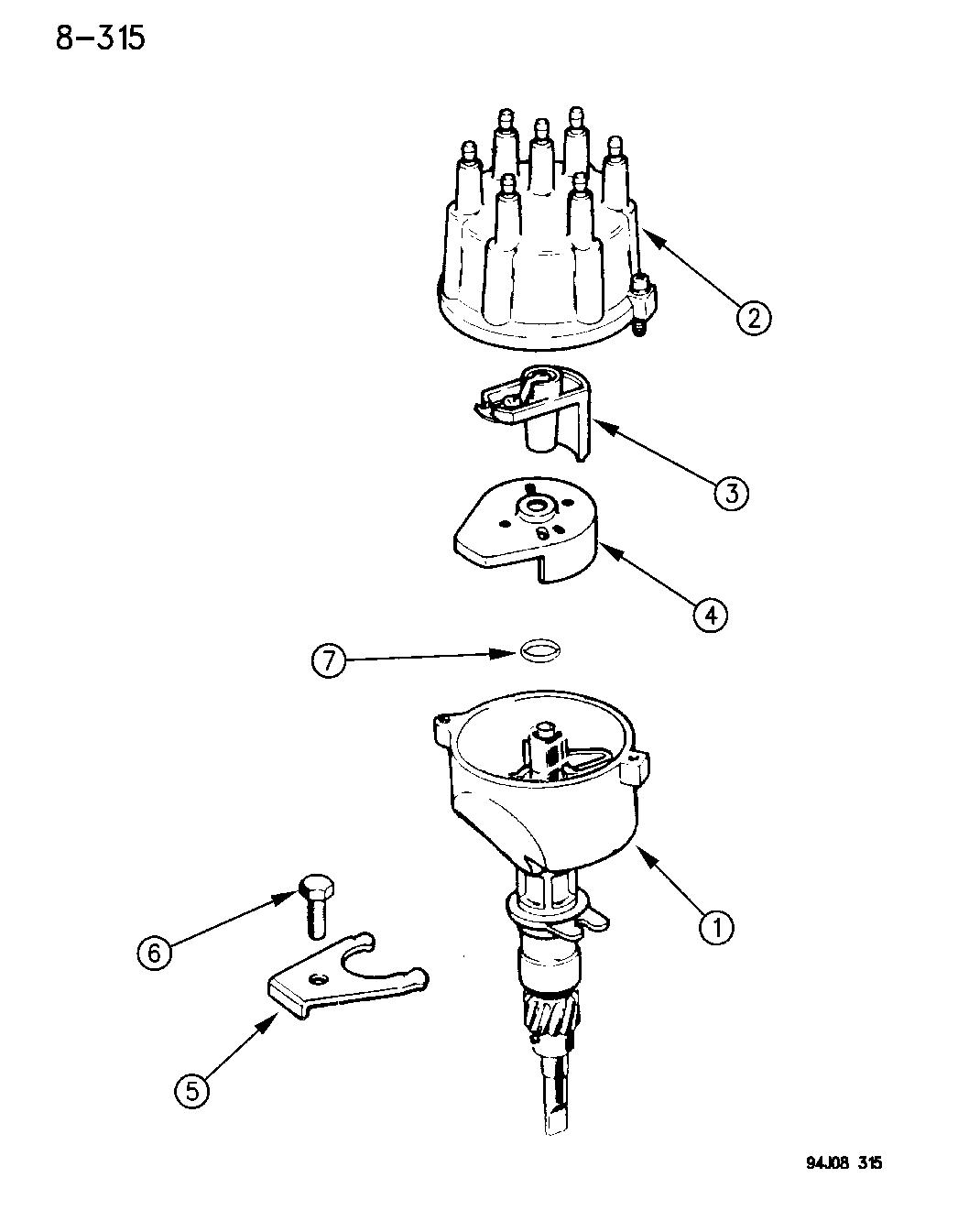 [HD_0513] Jeep Distributor Parts Diagram Wiring Diagram