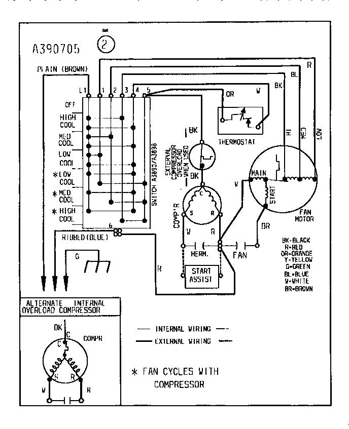 York Air Conditioner Wiring Diagram / Figure 1 6 Air