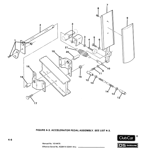 [HV_6528] Gas Pedal Schematic Schematic Wiring