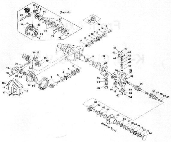 [LG_2895] Dana 60 Front Axle Parts Diagram Additionally