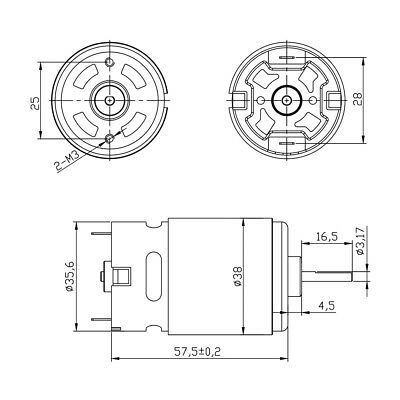 [LH_9407] Fire Engine Centrifugal Pump Cutaway Diagram