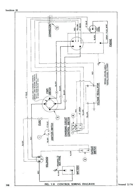 Ez Go Gas Golf Cart Wiring Diagram Pdf / Ez Go Rxv