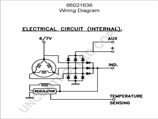 fv4071 gm internal regulator alternator wiring schematic