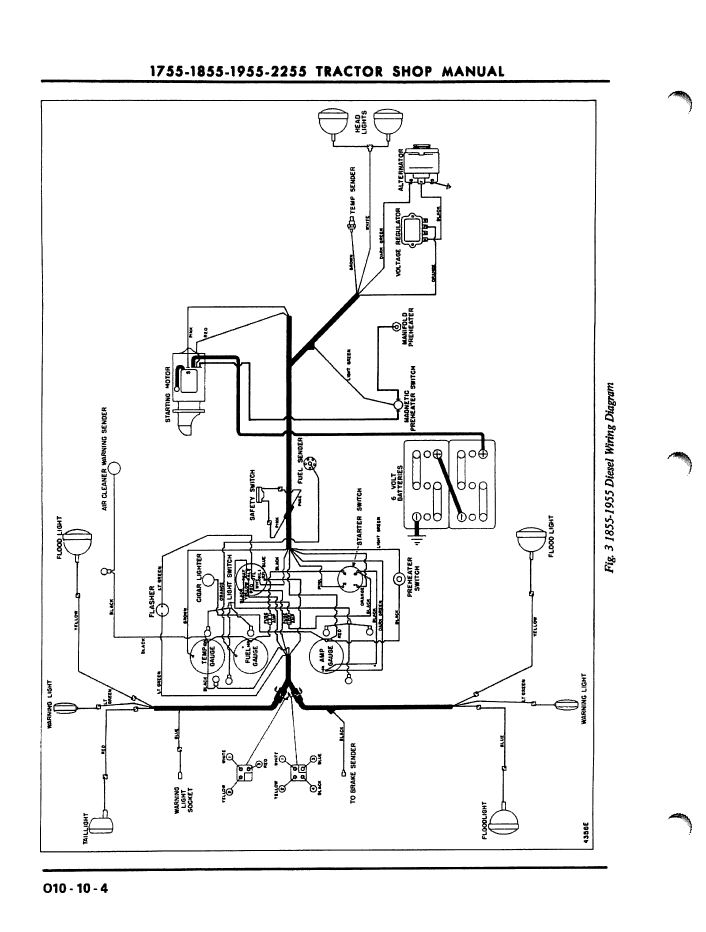 [LG_9618] Oliver Tractor Battery Wiring Diagram Download
