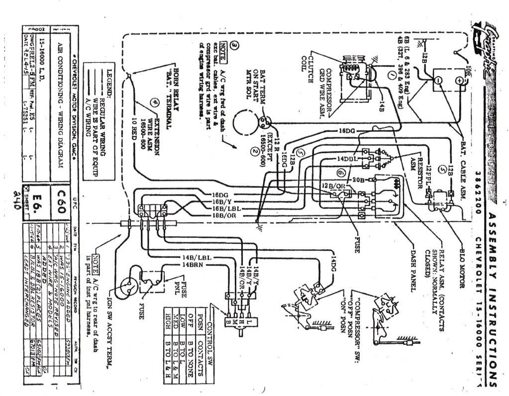 [TC_8823] 1966 Impala Wiring Harness Wiring Diagram