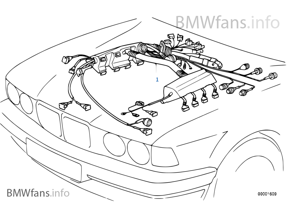 2001 Bmw 530 Engine Wiring Harness Diagram Collection