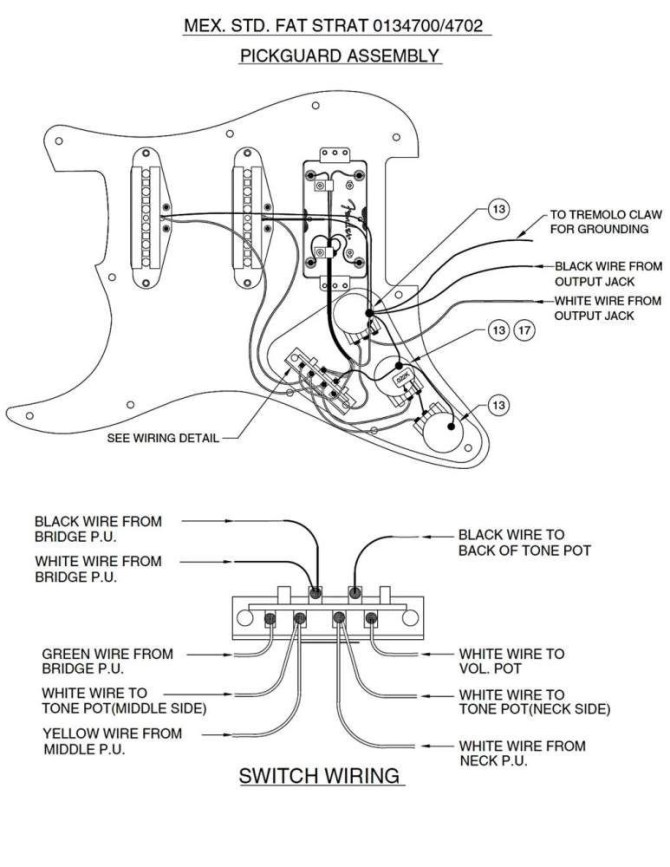 xl6665 hss wiring diagram 5 way free diagram