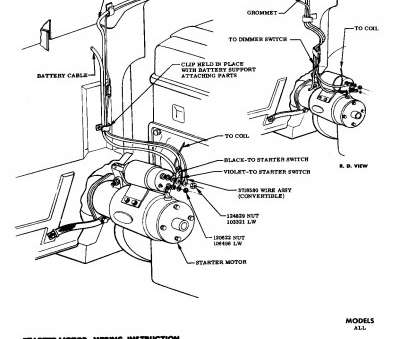 Starter Wiring Diagram Sbc   hobbiesxstyle   Chevy 350 Starter Wiring Diagram Simple      hobbiesxstyle