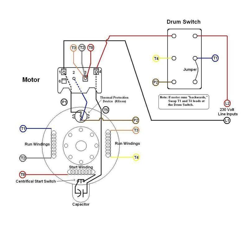 Dayton 1/2 Hp Motor Wiring Diagram : 1 2 Hp Century