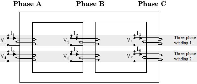 [TF_1272] Isolation Transformer Wiring Diagram Delta