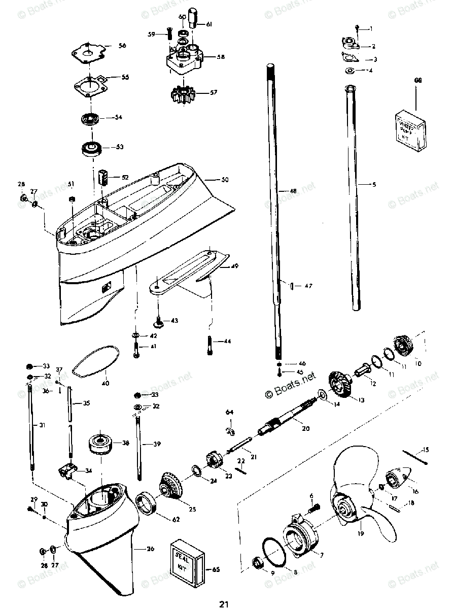 [NT_2755] 55 Hp Chrysler Outboard Diagram Wiring Diagram