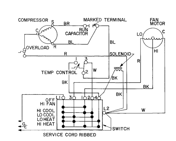 [Get 40+] Window Ac Electrical Wiring Diagram