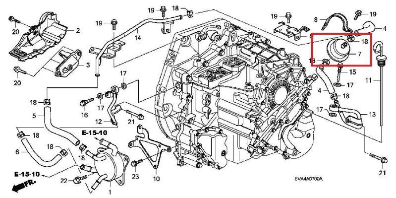 [ME_4228] 2001 Honda Civic Transmission Diagram Free Diagram