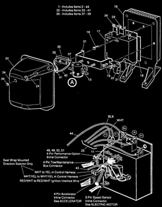 vs2515 ez go golf cart wiring diagram together with ez go