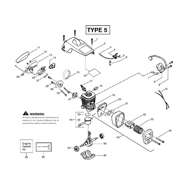 [NT_6377] Diagram Of A Chainsaw Wiring Diagram