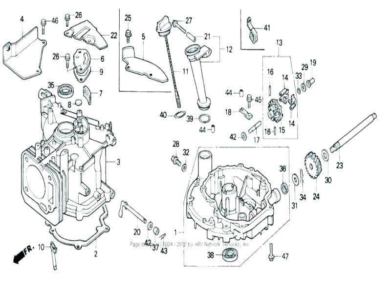 [ZA_8659] Craftsman Lawn Mower Engine Parts Diagram
