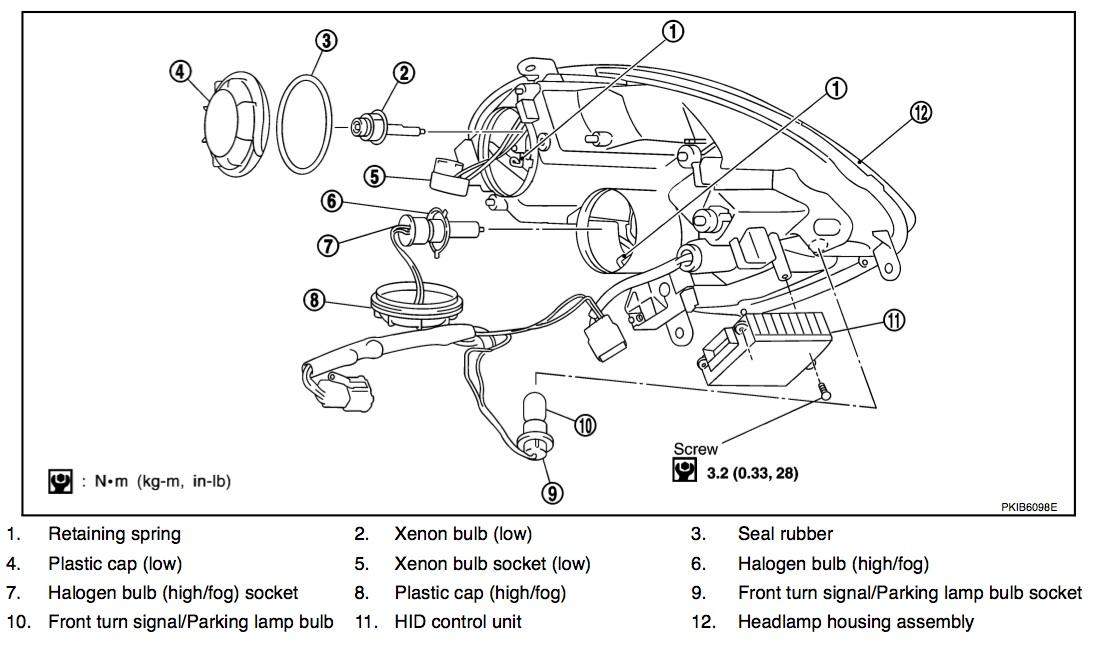 [DIAGRAM] 2003 Infinity G35 Hid Headlight Wiring Diagram