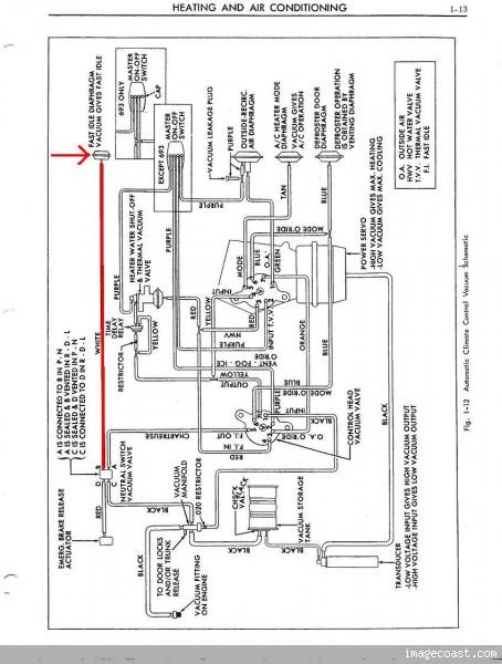 1968 Cadillac Ignition Wiring Diagram Schematic