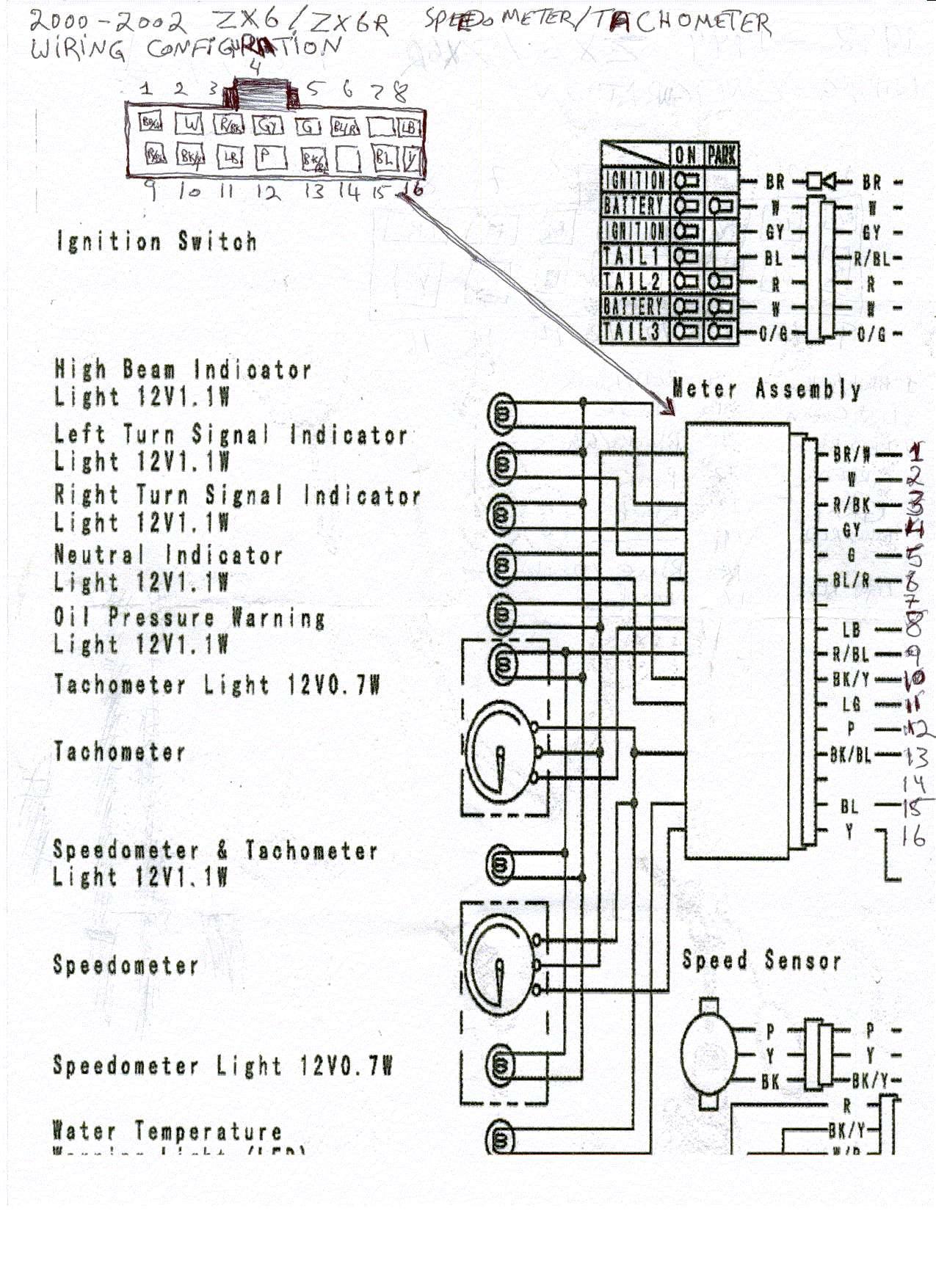 Zx6R Wire Diagram : Fuel Pump Wiring Help For 05 Kawasaki