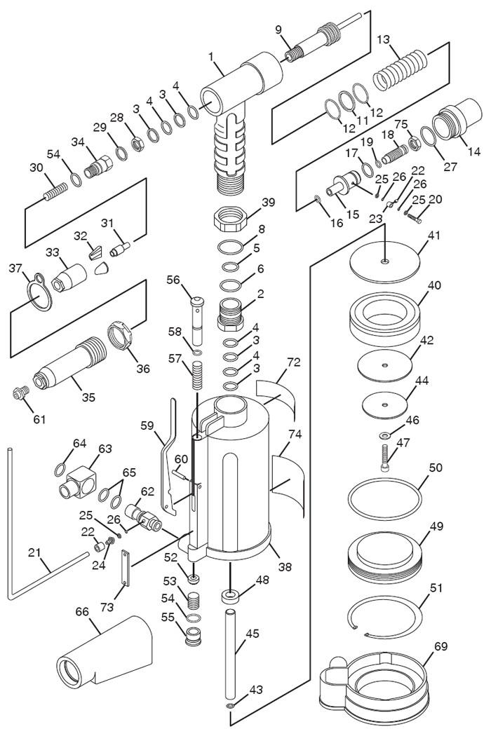 [KA_8867] Rivet Gun Parts Diagram Free Diagram