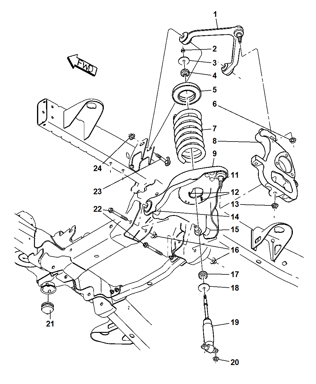 Dodge Ram Steering Parts Diagram