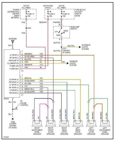 1989 jeep wrangler radio wiring diagram  center wiring