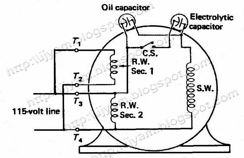 [DIAGRAM] Split Phase Dual Voltage Motors Wiring Diagram