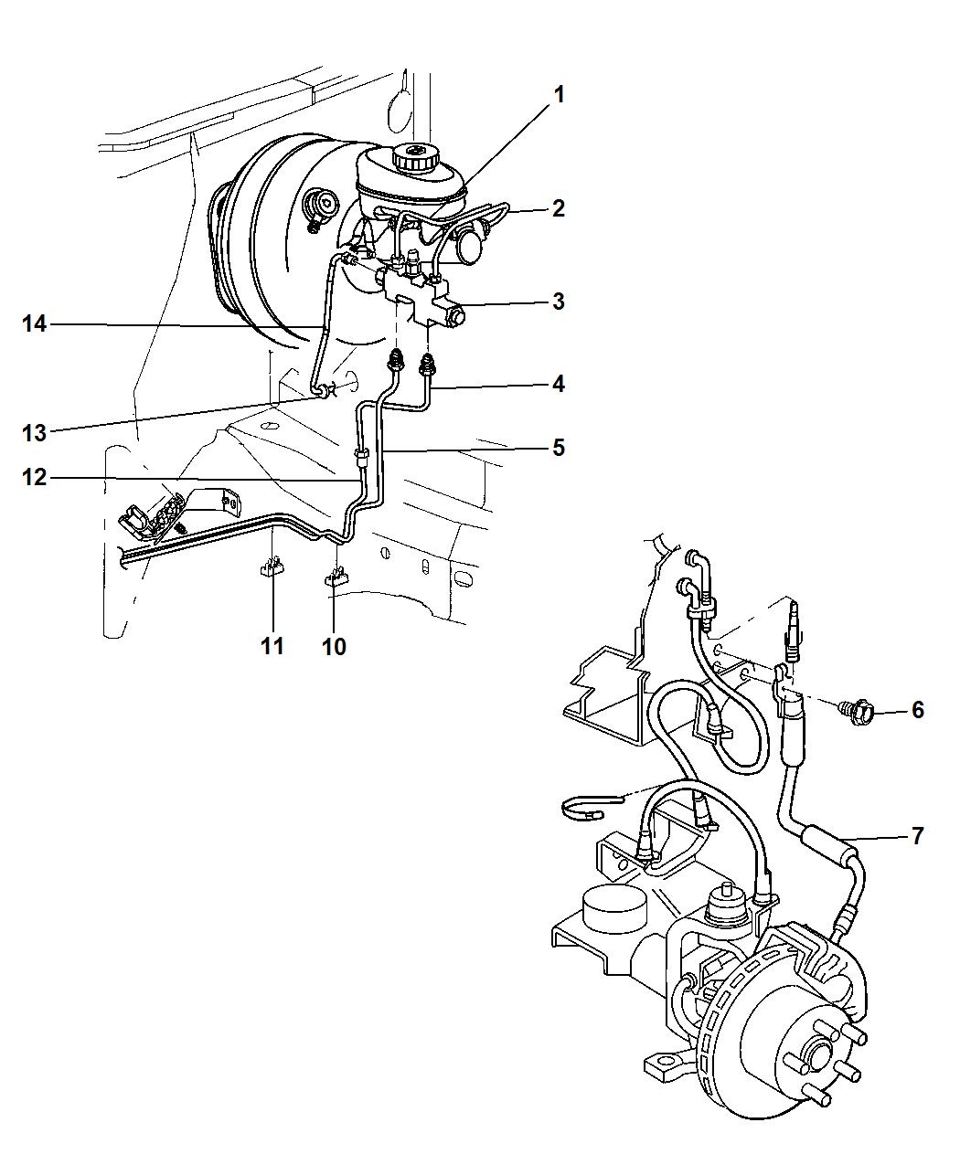 [GL_6873] Jeep Brakes Diagram Schematic Wiring