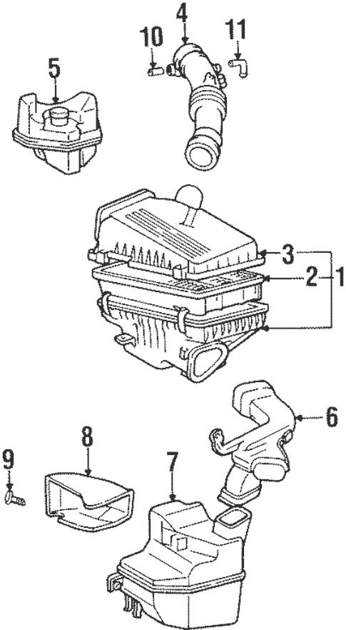 [OV_4790] 1994 Toyota Engine Intake Diagram Download Diagram