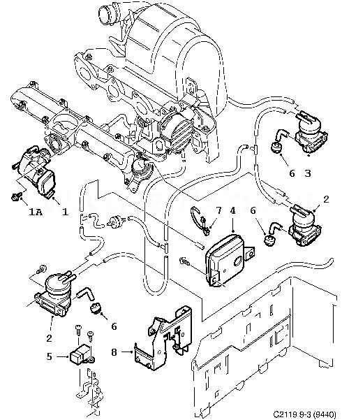 [LX_6807] Saab 900 Vacuum Hose Diagram Wiring Diagram