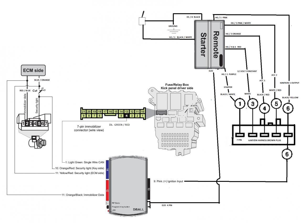 Remote Start Wiring Diagram Ford F150