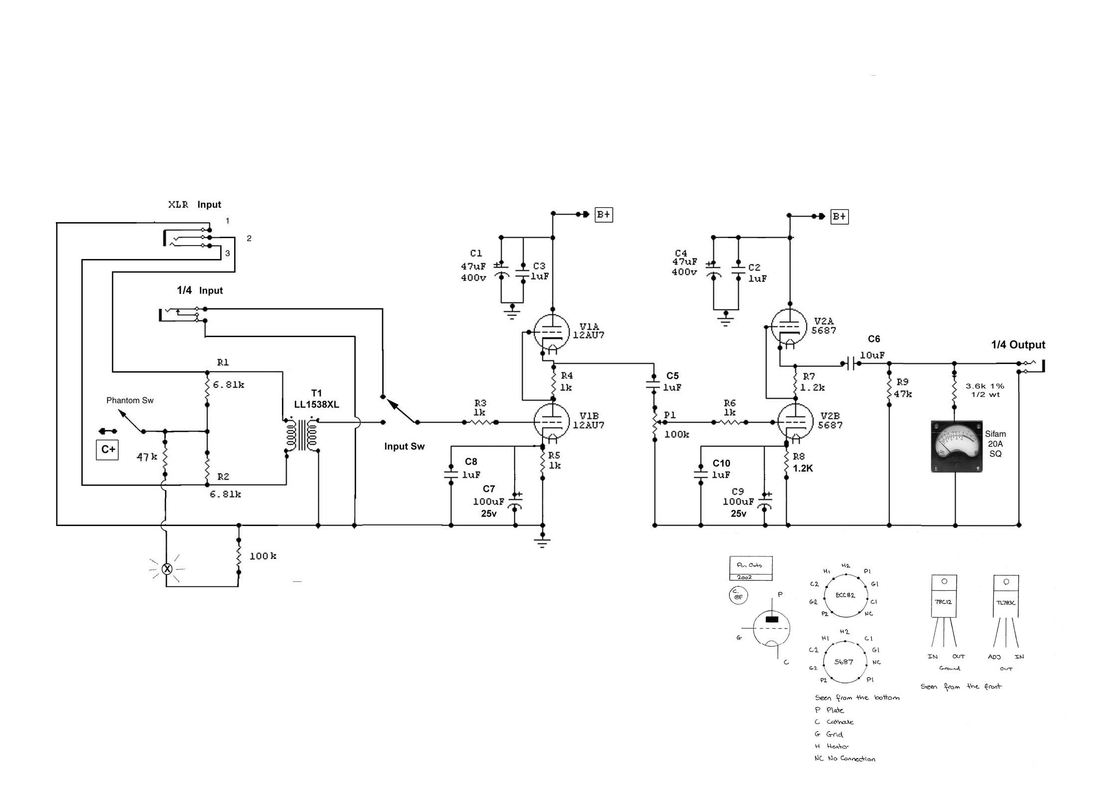 Mb Microphone Circuits Audio Schematics Download