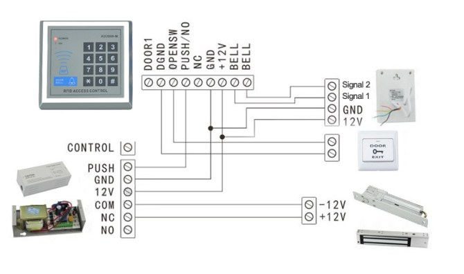 sa5783 keys can access control wiring diagram download diagram