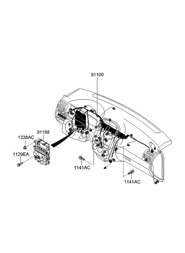 [WW_2982] Kia Spectra Wiring Schematic Wiring